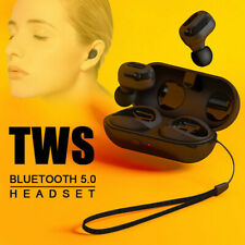 Earbuds Earphone Headset Headphone TWS Wireless Bluetooth 5.0 In-Ear HiFi Stereo