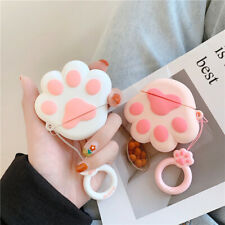 3D Cute Cat Claw Silicone Earphone Cover Skin For Apple AirPods Pro 2 1 Bag Case