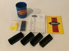 Yahtzee Game Replacement Parts Pieces Choice Instructions Score Pad Cup Chips