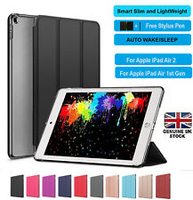 Ultra thin magnetic leather  smart case cover stand Apple iPad 6/5 Air 2,Air