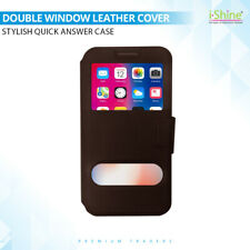 New PU Magnetic Leather Case Flip Window View Shockproof Cover For Apple iPhones