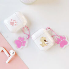 Cartoon Cute Cat TPU Airpods Case Earphone Protective Cover For Apple Charging