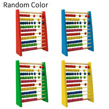 Wooden Abacus Beads Educational-Toy Math-Learning-Toy Counting-Calculating