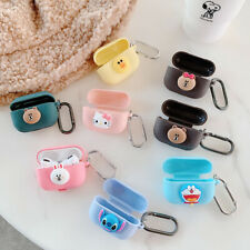Cute Animals Korean Style Airpods Case Fashion Earphone Protective Case Cover