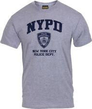 Grey Official Physical Training NYPD New York City Police Dept Logo T-Shirt