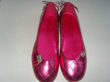 LADIES HELLO KITTY SHOES (BUDDY) MAGENTA