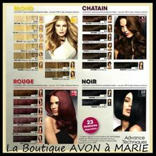 LOT de 2 COLORATION Cheveux PROFESSIONAL AVON au Choix