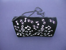 Treble Clef and Music Notes evening bag