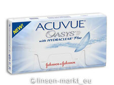 Acuvue OASYS Hydraclear PLUS 1×6  BC 8.4  Non-Stop-Linsen 2-Wochenlinsen !