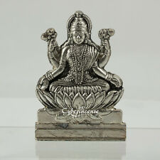 Small Silver Tone & Gold Tone Brass Hindu Diety Statues Amulet Casts