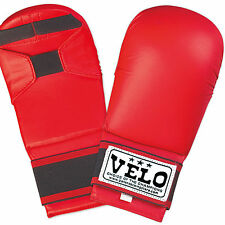 VELO Karate Mitts Gloves wkf Taekwondo Sparring  Kick Boxing Martial Arts Punch