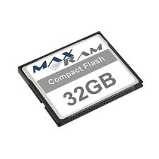 32GB Compact Flash Memory Card for Canon PowerShot S40 & more