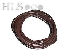Brown silicone rig tube 0.5 - 5.0mm ID Food safe high temp - HLS Carp tackle
