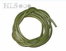 Green silicone rig tube 0.5 - 5.0mm ID Food safe high temp -  HLS Carp tackle