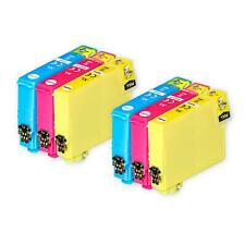 6 XL Ink Cartridges C/M/Y non-OEM to replace T1302, T1303, T1304 (T1306)