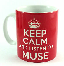 NEW KEEP CALM AND LISTEN TO MUSE GIFT MUG CUP CARRY ON COOL BRITANNIA RETRO
