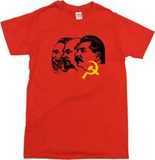 The Three Communist Leaders Lenin, Stalin & Engels T-Shirt - All Sizes & Colours