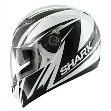 Casco integrale helmet capacete casque helm Shark S700s Line Up White