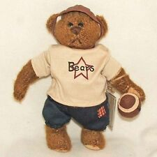 The Ganz Cottage Football Player Bear Plush - Tuffy  (CC11243) NEW!