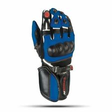 Nitro NG 101 Motorcycle motorbike scooter leather gloves Blue