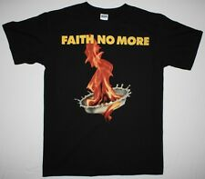 FAITH NO MORE THE REAL THING'89 MIKE PATTON MR.BUNGLE FANTOMAS NEW BLACK T-SHIRT