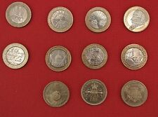 1986 - 2015 £2 two pound coins Bill of Rights Doves of peace First world War