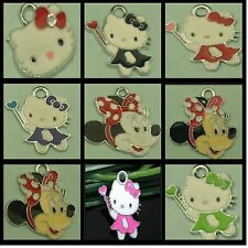 Minnie Mouse charms / Hello Kitty charms