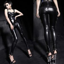 PUNK RAVE Skinny Cyber Leggings PVC Leggings CYBER GOTHIC VISUAL KEI VK