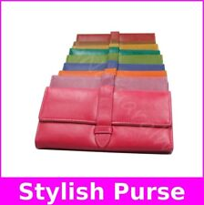 Purse Fashion Clutch Wallet Female Pastel Leather Wallet Long Trifold Bag Hot