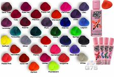 Crazy Color Colour Semi Permanent  Hair Colour Cream Pack Bottle 100mL UK Seller