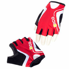 Eigo 'Track' Fingerless Sports Cycling / Cycle Gloves / Mitts / Road  - Red