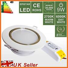 LED Recessed Ceiling Spot Down Light,5W,9W Warm/Day WHITE Downlight Cabinet Lamp