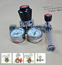 New Gas Regulator Pressure Gauges  Nitrogen Oxygen Propane Acetylene Argon