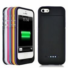 For iPhone 5 Portable External 2200mAh Power Bank Backup Battery Charger Case UK