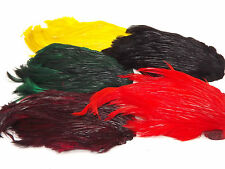 Grade A Dyed Cock / Neck cape choise from 6 colour.
