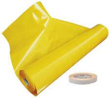 Vapour Barrier Polythene Foil Sheet CE - 200 [Mu] & Double Sided Adhesive Tape