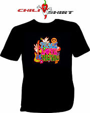 Fun T-Shirt   Peace Love Music [chilishirt]