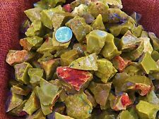 3000 Carat Lots of Green Opal Rough - Plus a FREE Faceted Gemstone