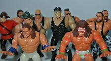 WWF Action force Figures Legion of Doom Hacksaw Undertaker Rick Martel (1985)