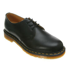 Mens Dr Martens 1461 3 Eye Gibson Lace Up Shoe Black Smooth R11838002