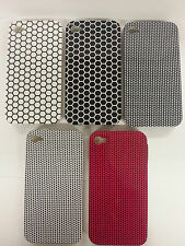 New Emo Punk Style Hexagon & Spot Hard Back Case Cover For Apple iPhone 4 & 4S