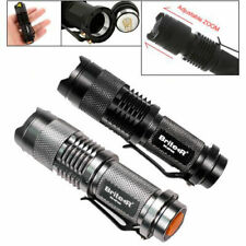 CREE XP-E R2 LED Mini Handheld Adjustable ZOOM Pocket Torch Flashlight Lamp Pro