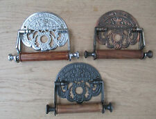 Vintage Antique Victorian old style Period bathroom Toilet Roll Holder Ornate