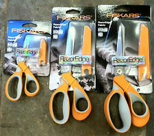 FISKARS SCISSORS RazorEdge Soft Grip ULTRA SHARP 3 Sizes available
