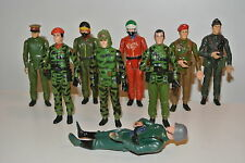 Z action force gi joe figures 1982 Palitoy Captain Sapper Infantryman Radio pilo