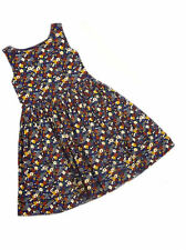 Next Baby Girls Ditsy Blue Floral Print Lined Netted Party Dress Age 9-12 mths