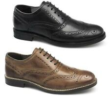 Red Tape BRADSHAW Mens Leather Classic Lace Comfy Up Brogue Formal Office Shoes