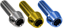 Titanium bolts M6-M5-M4 Most sizes All superior Quality with LIFETIME WARRANTY