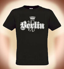 CAMISETA DIVERTIDA BERLIN + OSO, Tallas S XXL ( hasta 5xl posibles, contra