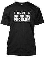 I have a drinking problem Mens Tshirt 'As worn by Metallica James Hetfield' Rock